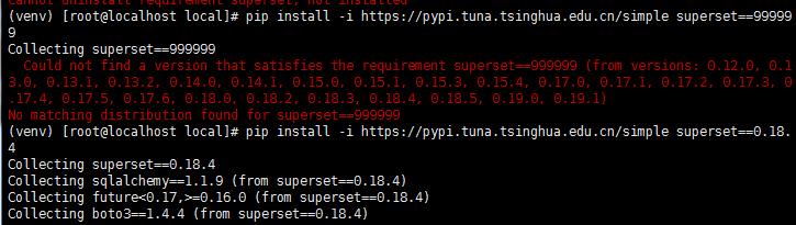 superset install