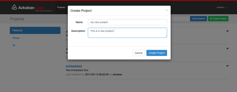 createproject