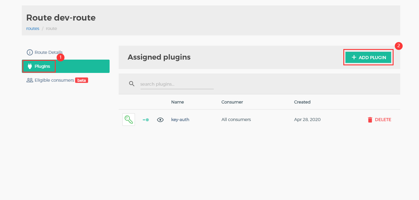 konga add dev plugins